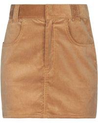 RE/DONE Minifalda - Neutro