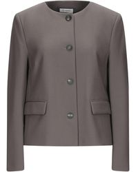Cappellini By Peserico Suit Jacket - Grey