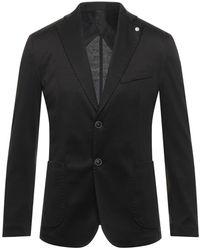 Squad² Suit Jacket - Black