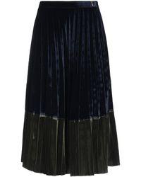 Roberta Scarpa Midi Skirt - Blue