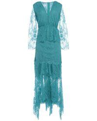 Anna Rachele Midi Dress - Blue