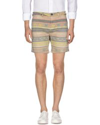 Scotch & Soda Denim Shorts - Natural