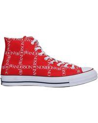 Converse High Sneakers & Tennisschuhe - Rot