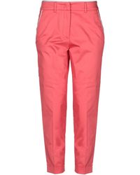 ARGONNE by PESERICO Casual Trousers - Pink
