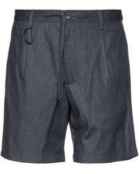 Briglia 1949 Shorts jeans - Nero
