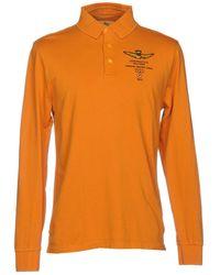 Aeronautica Militare Polo Shirt - Orange
