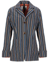 Attic And Barn Suit Jacket - Blue