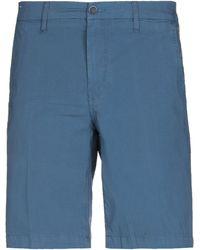 Re-hash Bermuda Shorts - Blue
