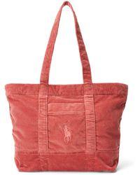 Polo Ralph Lauren Shoulder Bag - Red