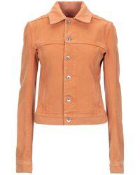 Rick Owens Drkshdw Denim Outerwear - Orange