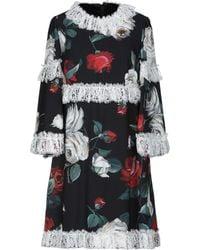Dolce & Gabbana - Minivestido - Lyst