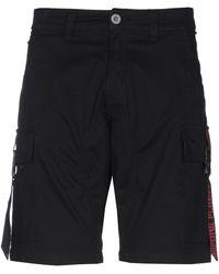 Alpha Industries Bermuda Shorts - Black