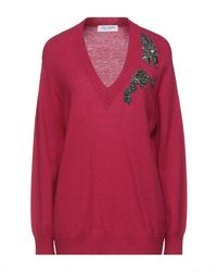 Anna Rachele Pullover - Rouge