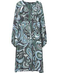 Suoli Short Dress - Blue
