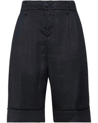 European Culture Shorts & Bermuda Shorts - Black