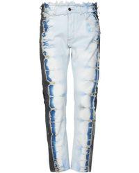 Palm Angels Denim Pants - Blue