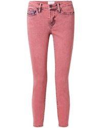 Current/Elliott Denim Trousers - Pink