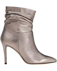8 by YOOX Ankle Boots - Grey