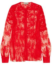 Preen By Thornton Bregazzi Blouse - Red