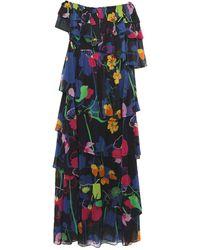 Ainea Long Dress - Blue