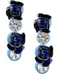 Shourouk Earrings - Blue
