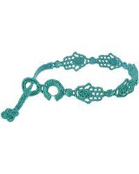 Cruciani Bracelet - Green
