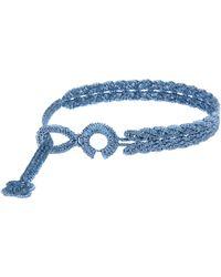 Cruciani Bracelet - Blue
