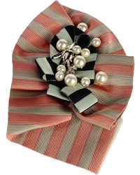 Jil Sander Navy Brooch - Multicolor