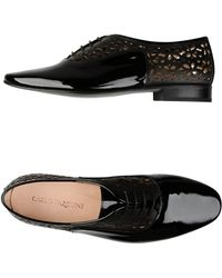 Carlo Pazolini - Patent Leather Lace-Up Shoes - Lyst