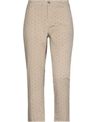 40weft 3/4-length Trousers - Natural