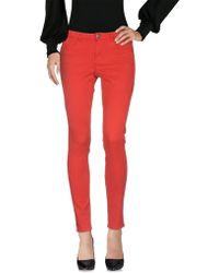 Maison Scotch Casual Trousers - Red