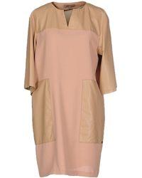 Betty Blue Short Dress - Natural