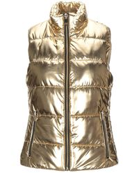 MICHAEL Michael Kors Synthetic Down Jacket - Metallic