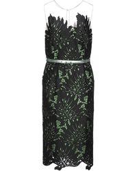 Maria Grazia Severi 3/4 Length Dress - Black