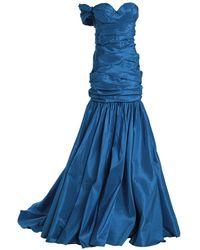 Naeem Khan Long Dress - Blue