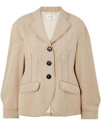 Wales Bonner Suit Jacket - Natural
