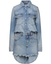 DIESEL Short Dress - Blue