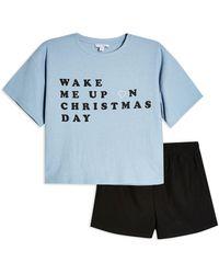 TOPSHOP Pyjama - Bleu