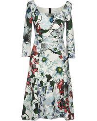 Erdem Knee-length Dress - White