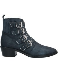 Janet & Janet Ankle Boots - Blue