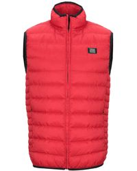 Love Moschino Synthetic Down Jacket - Red