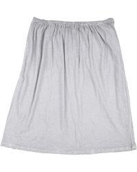 Humanoid Midi Skirt - Grey