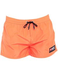 DIESEL Short de bain - Orange