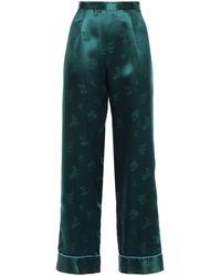 Anna Sui Pantalon - Vert