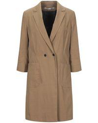 Malloni Overcoat - Natural
