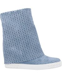 Casadei Ankle Boots - Blue
