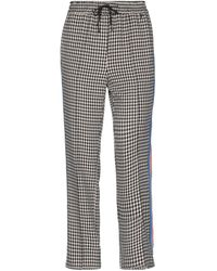 MY TWIN Twinset Casual Trouser - Natural