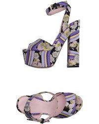 Giamba - Sandals - Lyst
