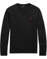Polo Ralph Lauren Classic-fit Long-sleeve T-shirt - Black