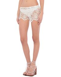Eberjey Pantalons de plage - Blanc